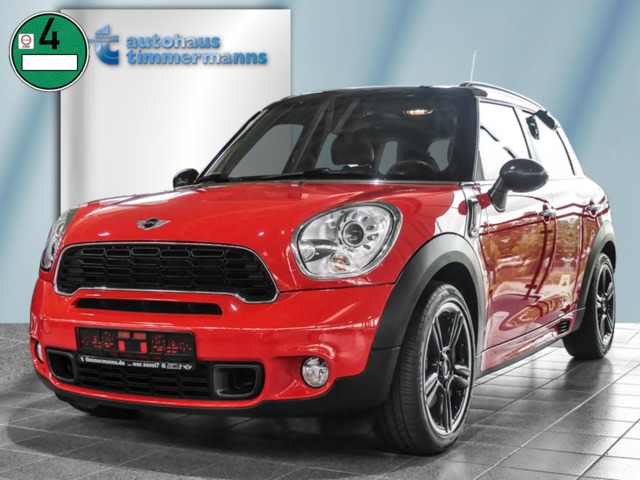 MINI Cooper S Countryman ALL4 Aut Navi Glasdach Xenon