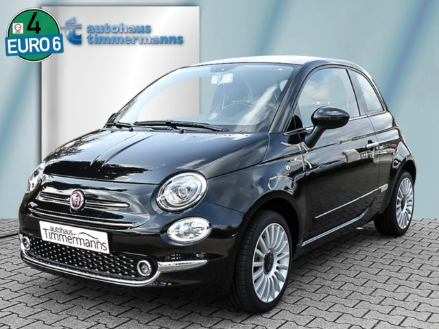 FIAT 500 1.2 8V Lounge Glasdach Bluetooth Klima